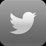 Twitter logo B&W