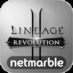 lineage 2 logo B&W