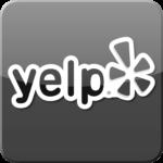 yelp logo B&W